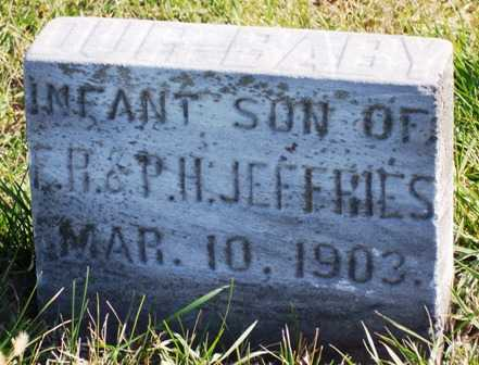 JEFFRIES, INFANT - Madison County, Iowa | INFANT JEFFRIES