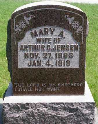 BOOS JENSEN, MARY ANNA - Madison County, Iowa | MARY ANNA BOOS JENSEN