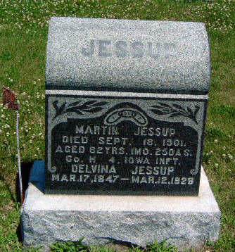JESSUP, DELVINA - Madison County, Iowa | DELVINA JESSUP