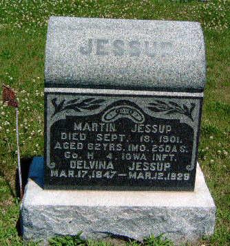 MOON JESSUP, DELVINA - Madison County, Iowa | DELVINA MOON JESSUP