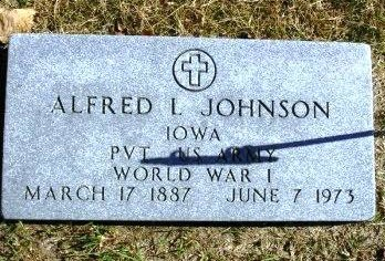 JOHNSON, ALFRED L. - Madison County, Iowa | ALFRED L. JOHNSON