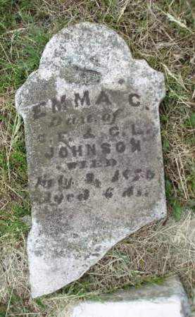 JOHNSON, EMMA C. - Madison County, Iowa   EMMA C. JOHNSON
