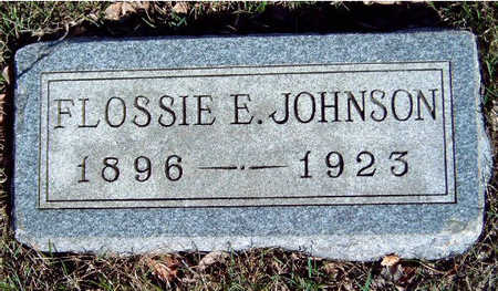JOHNSON, FLORENCE ELIZABETH (FLOSSIE) - Madison County, Iowa | FLORENCE ELIZABETH (FLOSSIE) JOHNSON