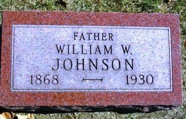 JOHNSON, WILLIAM WARNER - Madison County, Iowa | WILLIAM WARNER JOHNSON