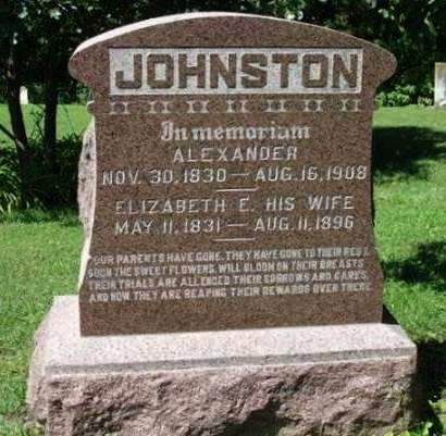 JOHNSTON, ELIZABETH E. - Madison County, Iowa | ELIZABETH E. JOHNSTON