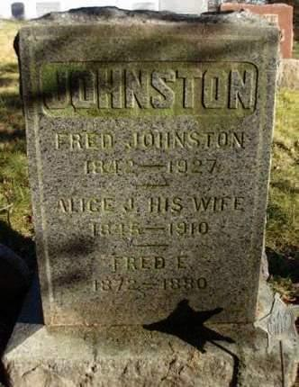 JOHNSTON, FREDERICK EUGENE (FRED) - Madison County, Iowa | FREDERICK EUGENE (FRED) JOHNSTON