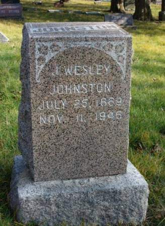 JOHNSTON, JAMES WESLEY - Madison County, Iowa | JAMES WESLEY JOHNSTON