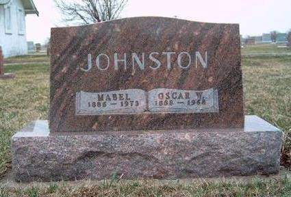 JOHNSTON, MABEL - Madison County, Iowa | MABEL JOHNSTON