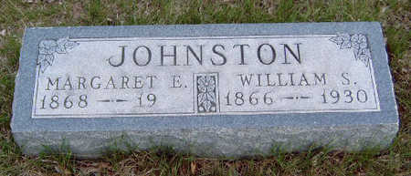JOHNSTON, WILLIAM S. - Madison County, Iowa | WILLIAM S. JOHNSTON