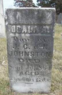 JOHNSTON, OGALA A. - Madison County, Iowa | OGALA A. JOHNSTON