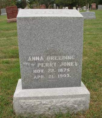BREEDING JONES, ANNA - Madison County, Iowa | ANNA BREEDING JONES