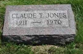 JONES, CLAUDE THEODORE - Madison County, Iowa | CLAUDE THEODORE JONES