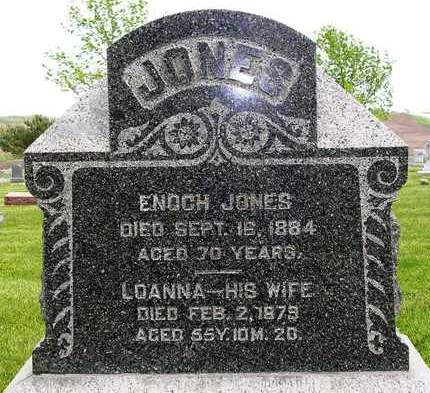 JONES, ENOCH - Madison County, Iowa | ENOCH JONES