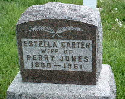 CARTER JONES, ESTELLA - Madison County, Iowa | ESTELLA CARTER JONES