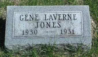 JONES, GENE LAVERNE - Madison County, Iowa | GENE LAVERNE JONES