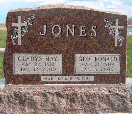 JONES, GLADYS MAY - Madison County, Iowa | GLADYS MAY JONES