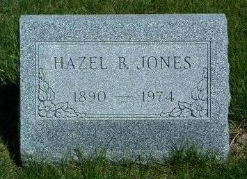JONES, HAZEL B. - Madison County, Iowa | HAZEL B. JONES