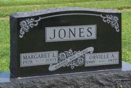 JONES, MARGARET LOUISE - Madison County, Iowa | MARGARET LOUISE JONES