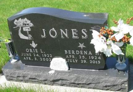 JONES, ORIE LEWIS JR. - Madison County, Iowa | ORIE LEWIS JR. JONES