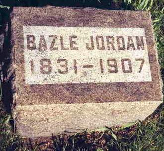 JORDAN, BAZLE - Madison County, Iowa | BAZLE JORDAN