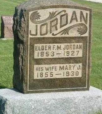 JORDAN, MARY JANE - Madison County, Iowa | MARY JANE JORDAN