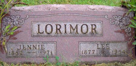 JORGENSON LORIMOR, JENNIE C. - Madison County, Iowa   JENNIE C. JORGENSON LORIMOR