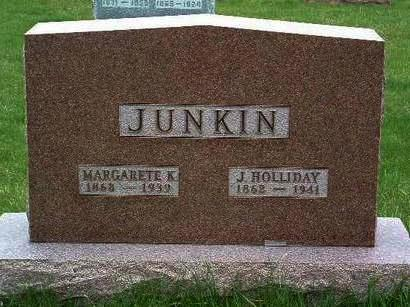 JUNKIN, JOHN HOLLIDAY - Madison County, Iowa | JOHN HOLLIDAY JUNKIN