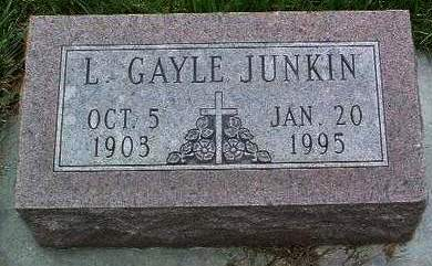 JUNKIN, LAURA GAYLE - Madison County, Iowa | LAURA GAYLE JUNKIN