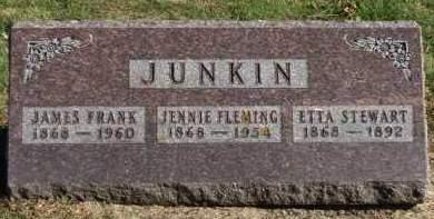 JUNKIN, JENNIE MAY - Madison County, Iowa | JENNIE MAY JUNKIN