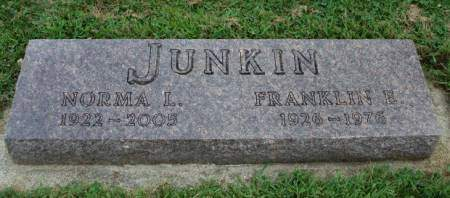 JUNKIN, FRANKLIN ERNEST - Madison County, Iowa | FRANKLIN ERNEST JUNKIN