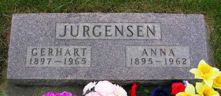 JURGENSEN, ANNA - Madison County, Iowa | ANNA JURGENSEN