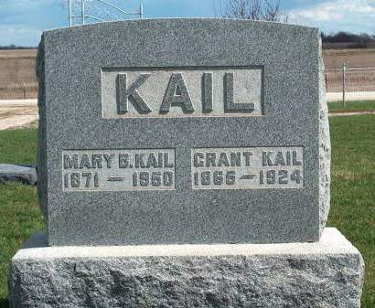 KAIL, MARY B. - Madison County, Iowa | MARY B. KAIL