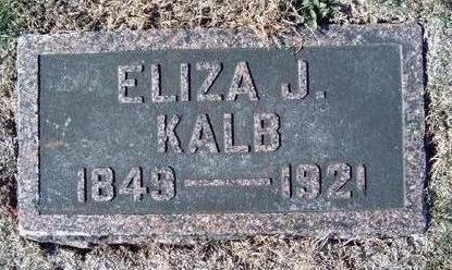 KALB, ELIZABETH J. - Madison County, Iowa | ELIZABETH J. KALB