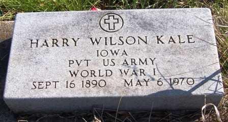 KALE, HARRY WILSON - Madison County, Iowa | HARRY WILSON KALE
