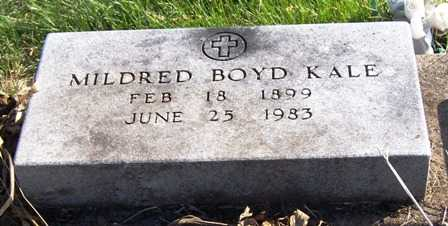 BOYD KALE, MILDRED - Madison County, Iowa | MILDRED BOYD KALE