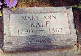 KALE, MARY ANN - Madison County, Iowa | MARY ANN KALE