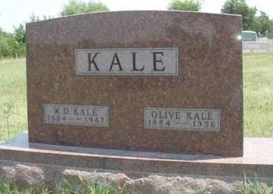 KALE, OLIVE MAY - Madison County, Iowa | OLIVE MAY KALE