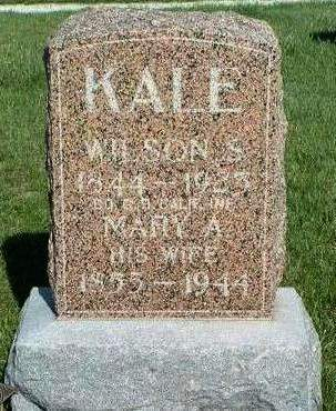 KALE, WILSON S. - Madison County, Iowa | WILSON S. KALE