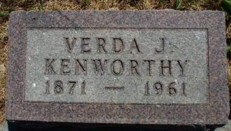 KENWORTHY, ALVERDA JANETTE (VERDA) - Madison County, Iowa | ALVERDA JANETTE (VERDA) KENWORTHY