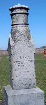 KENWORTHY, ELIZA (REV.) - Madison County, Iowa | ELIZA (REV.) KENWORTHY