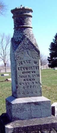KENWORTHY, JESSE W.  (REV.) - Madison County, Iowa | JESSE W.  (REV.) KENWORTHY