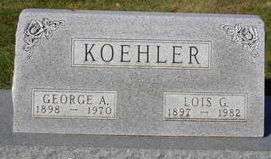 KOEHLER, GEORGE ALBERT - Madison County, Iowa | GEORGE ALBERT KOEHLER