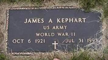 KEPHART, JAMES ALLEN - Madison County, Iowa | JAMES ALLEN KEPHART