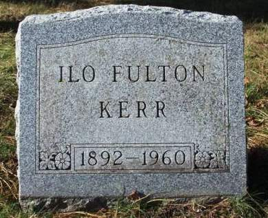 FULTON KERR, ILO EDITH - Madison County, Iowa | ILO EDITH FULTON KERR