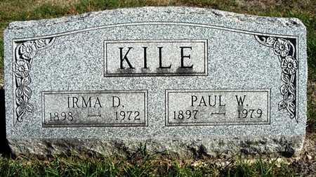 KILE, IRMA DOLLY - Madison County, Iowa | IRMA DOLLY KILE