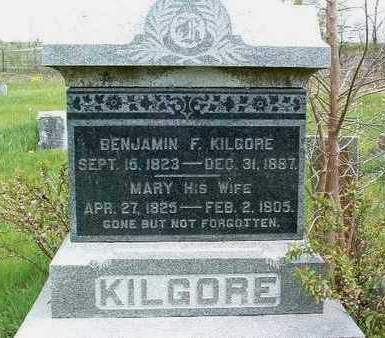 KILGORE, BENJAMIN FRANKLIN - Madison County, Iowa | BENJAMIN FRANKLIN KILGORE