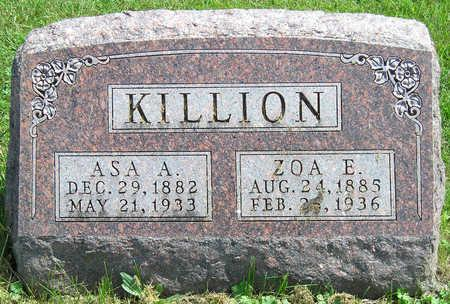 KILLION, ZOA EFFIE - Madison County, Iowa | ZOA EFFIE KILLION