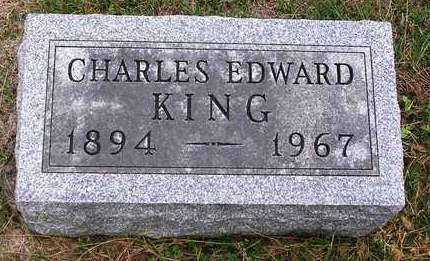 KING, CHARLES EDWARD - Madison County, Iowa | CHARLES EDWARD KING