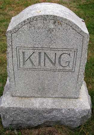 KING, FAMILY HEADSTONE - Madison County, Iowa | FAMILY HEADSTONE KING