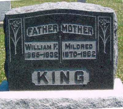 KINGERY KING, MILDRED - Madison County, Iowa | MILDRED KINGERY KING